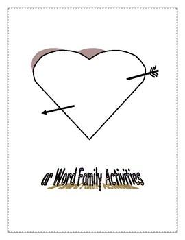 AR WORD FAMILY ACTIVITIES