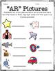 """""""AR"""" Word Activities"""