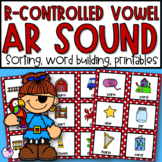 R Controlled Vowels | AR | Phonics Worksheets Activities