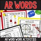 R Controlled Vowels: AR
