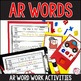 AR Words - A Word Study Pack
