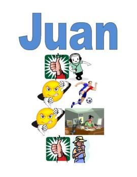 AR activities in Spanish Me gusta Detectives Speaking activity