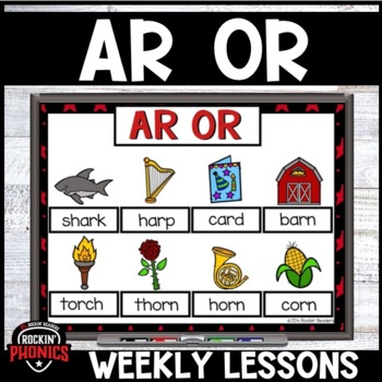 AR and OR (R-Controlled Vowels) Activities and Games