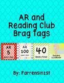 AR and Reading Club Brag Tags
