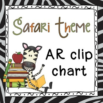 AR clip chart ~ Safari theme