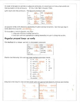 AR conjugation packet