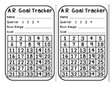 AR goal tracker and clip chart