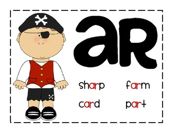 AR pirate anchor chart