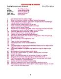 AR practice questions: THE WIDOW'S BROOM