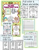 AR test Reading Punch Chance Cards Chart and Awards Pack