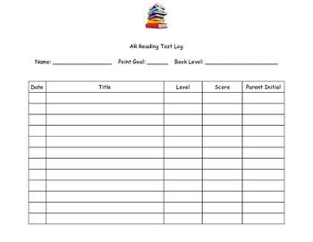 AR test chart