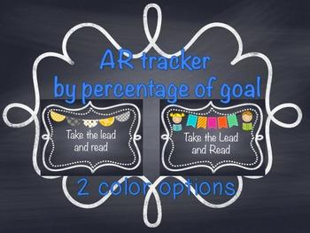 AR tracker chalkboard edition