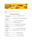 AR verbs Present tense