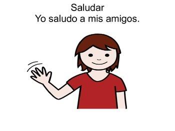 AR verbs for Spanish Elementary class
