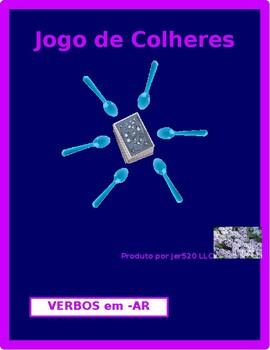 Verbos em AR (AR verbs in Portuguese) Present tense Spoons