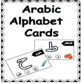 ARABIC ALPHABET CARDS- PLAY DOUGH
