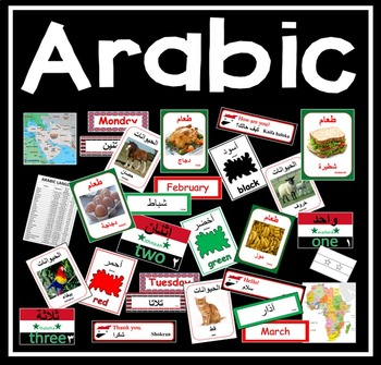 ARABIC LANGUAGE RESOURCES -GEOGRAPHY DISPLAY EAL SYRIAN SYRIA MAPS AFRICA