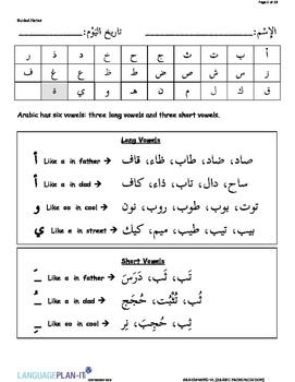 ARABIC PRONUNCIATIONS (ARABIC)