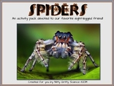 SPIDERS! - A Spider Activity Pack {Life Science - Invertebrates}