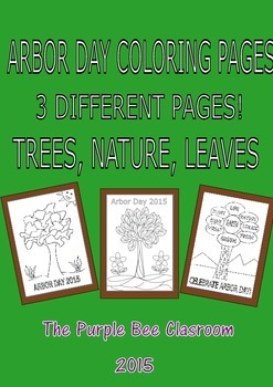 Coloring Pages-Arbor Day