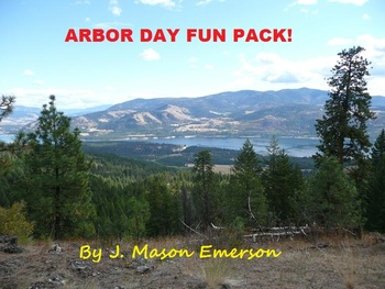 ARBOR DAY FUN PACK! (COMMON CORE, WORD SEARCHES, CLIP ART ETC, SALE)