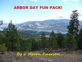 ARBOR DAY FUN PACK! (COMMON CORE, WORD SEARCHES, CLIP ART ETC, SALE)