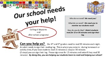 ARC - Calling all daycares and after-school programs