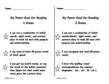 ARC Power Goals 1 Green and 2 Green
