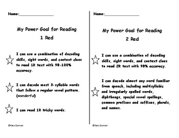 ARC Power Goals - 1 Red and 2 Red