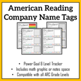 ARC Reading Level Name Tags