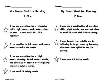 ARC power goals 1 Blue and 2 Blue