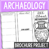ARCHAEOLOGY: Earth Science Research Brochure Template Project