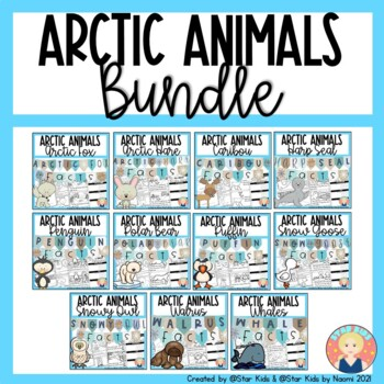 ARCTIC ANIMALS {BUNDLED} SAVE $$