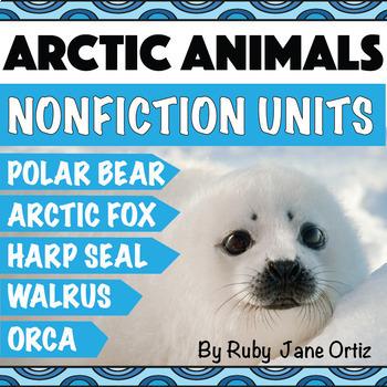 Arctic Animals Activities Bundle
