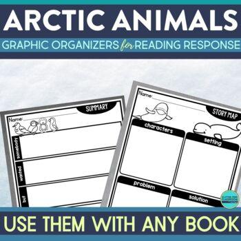 Arctic Animals Research Report Graphic Organizers
