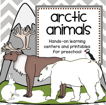 ARCTIC ANIMALS Theme Unit with Posters, Photos, Games and Activities