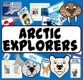 ARCTIC EXPLORERS -LITERACY EYFS KS 1-2 ANIMALS ROLE PLAY SCIENCE GEOGRAPHY