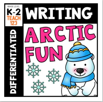 Winter Writing Trace Differentiated Kindergarten First Grade