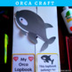 KILLER WHALE (ORCA) NONFICTION UNIT (Craft Pattern and Lap book Included)