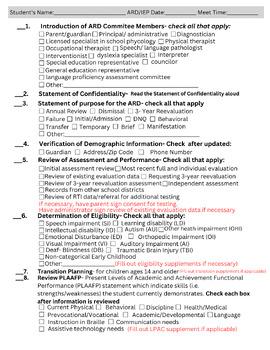 ARD Meeting Bundle