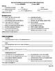ARD /  PLAAFP Teacher Input Form with Common Core Standards
