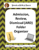 ARD/IEP folder organizers
