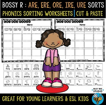 ARE-ERE-IRE-ORE-URE Sorts | Cut and Paste Worksheets