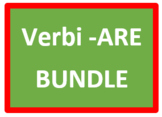 ARE Verbs in Italian Verbi ARE Bundle