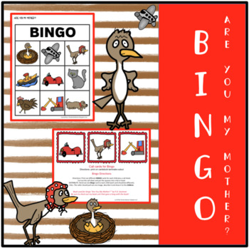 ARE YOU MY MOTHER? BINGO SET