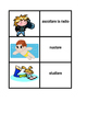 ARE verbs activities in Italian Vocabulary Concentration games