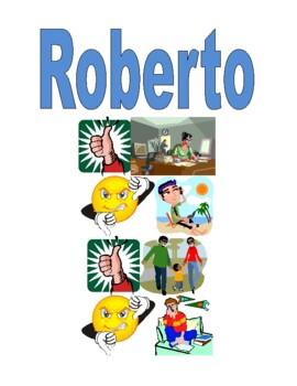 ARE verbs activities in Italian Mi piace Detectives Speaking activity