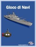 ARE verbs in Italian Battaglia Navale Battleship
