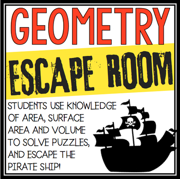 AREA AND VOLUME GEOMETRY ESCAPE ROOM