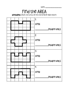 AREA: Practice Worksheets